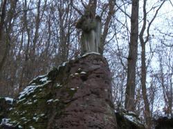 sur le pourtour du chemin de la chapelle de schauenberg